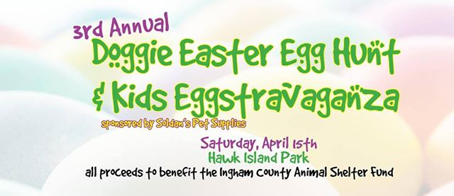 3rd Annual Doggie Easter Egg Hunt and Kids Eggstravaganza