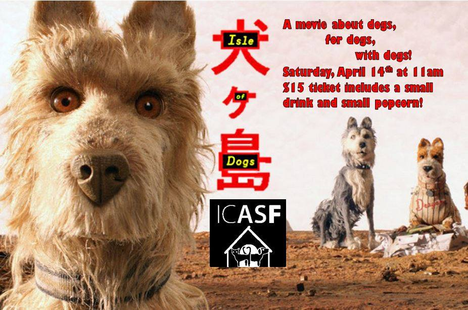Isle of Dogs – Saturday at the Movies